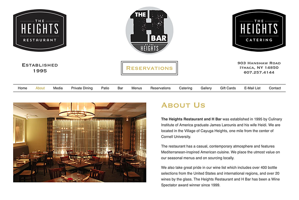The Heights Restaurant and H Bar