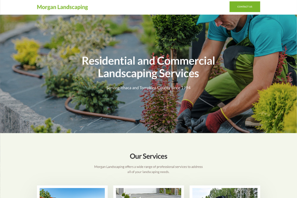 Morgan Landscaping