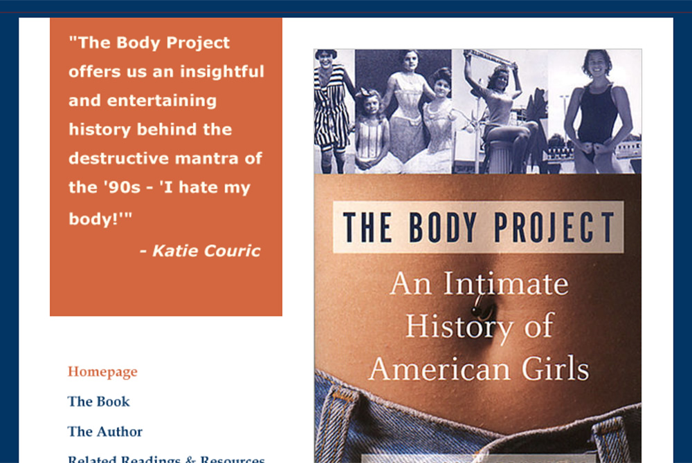 Joan Jacobs Brumberg<br />The Body Project